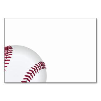Cartão Fontes da festa de aniversário do basebol