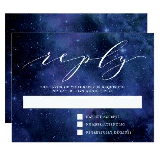 Cartão Fora desta aguarela do mundo | espace o casamento