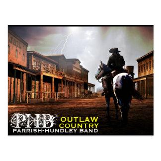Cartão foragido do país de PHB Cartões Postais