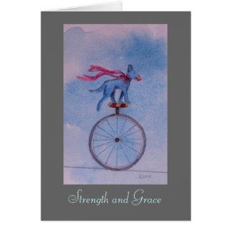 Cartão Força e benevolência