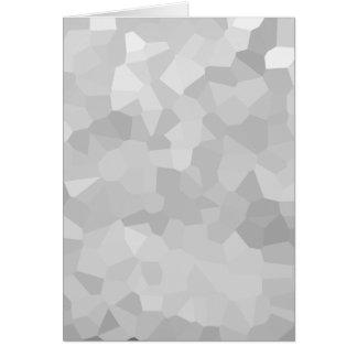 Cartão Forma cinzenta e branca Ab do Grayscale moderno -