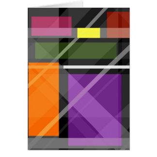 Cartão Formas do cruzamento