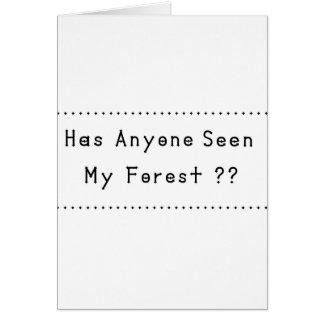 Cartão Forrest
