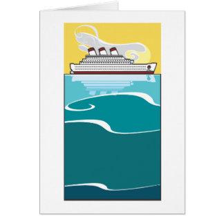 Cartão Forro de oceano #2