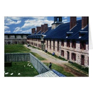 Cartão Fortaleza de Louisbourg