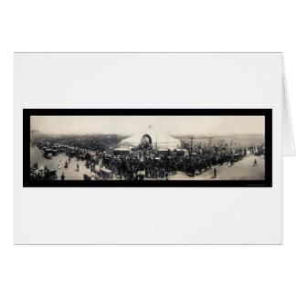 Cartão Foto 1906 de Chicago da barraca de Sarah Bernhardt