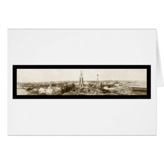 Cartão Foto 1907 de Coney Island New York