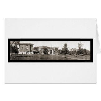 Cartão Foto 1914 da universidade IA de Drake