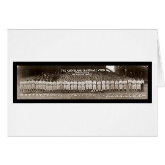 Cartão Foto 1920 do basebol dos indianos