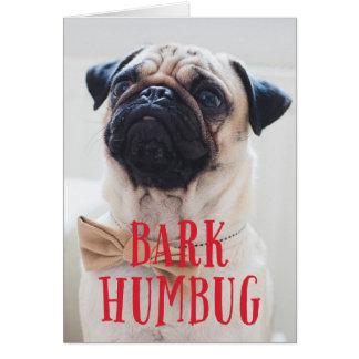 Cartão Foto bonito do feriado do cão de filhote de