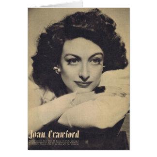 Cartão Foto branca do Rotogravure da camisola de Joana