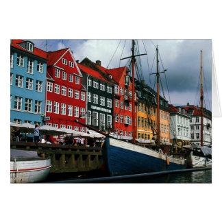 Cartão Foto Colette de Nyhavn Copenhaga