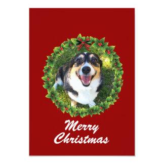 Cartão Foto feita sob encomenda do animal de estimação da
