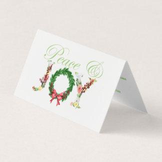 Cartão Foto floral simples do roteiro da alegria da