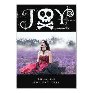 Cartão Foto gótico do feriado da alegria