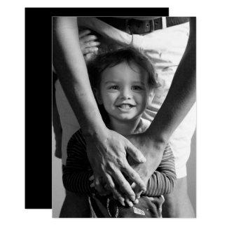 Cartão Foto minimalista do dia dos pais