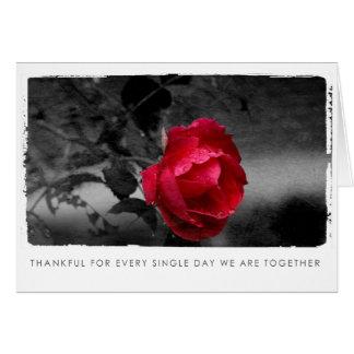 Cartão fotografia cor-de-rosa dos namorados