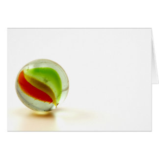 Cartão Fotografia de mármore de vidro