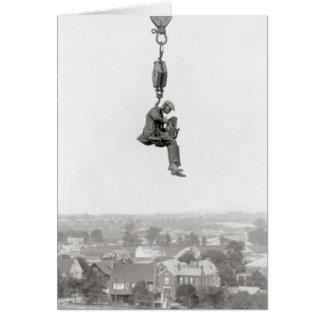 Cartão Fotógrafo aéreo, 1925
