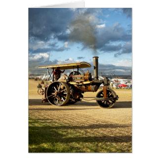 Cartão Fowler rolo de estrada do vapor de 8 toneladas