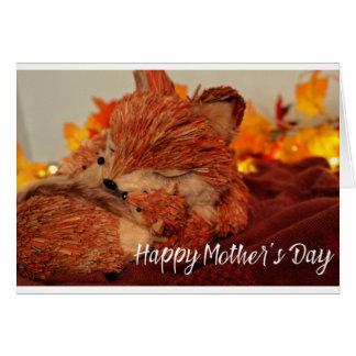 Cartão Fox da mãe
