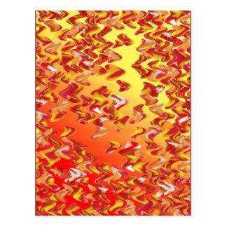 Cartão fraco da arte de Digitas do redemoinho do