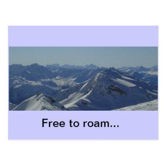 Cartão francês dos cumes