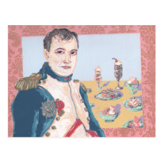 Cartão francês dos trabalhos artísticos originais