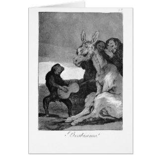 Cartão Francisco Goya- Bravissimo