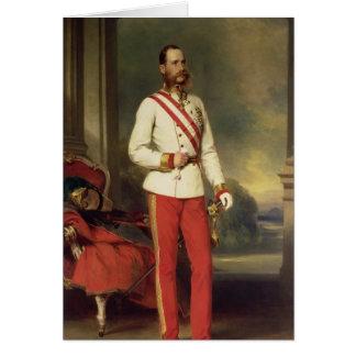 Cartão Franz Joseph mim, imperador de Áustria