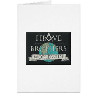 Cartão Fraternidade mundial