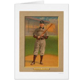 Cartão Fred Clarke pirateia o basebol 1911