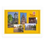 Cartão Freiburg no máximo acidente previsível de p Cartão Postal