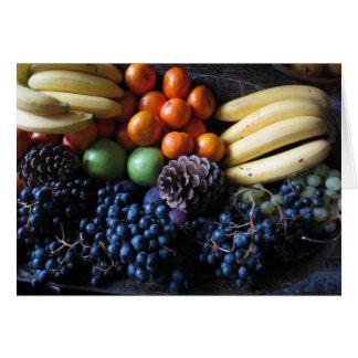 Cartão Fruta do francês