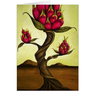 Cartão Fruta Tree1 do dragão