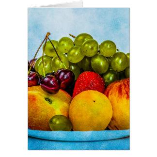 Cartão Frutas do verão