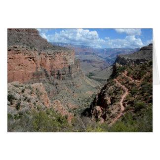 Cartão Fuga brilhante do anjo, Grand Canyon