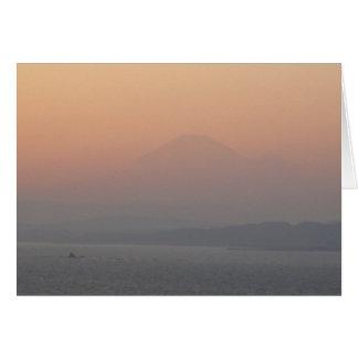 Cartão Fuji-san-NY-AKEMASHITE-JP