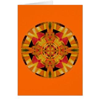Cartão Fulgor sensual Chakra sacral