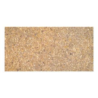 Cartão Fundo Textured do teste padrão de Tan rocha de
