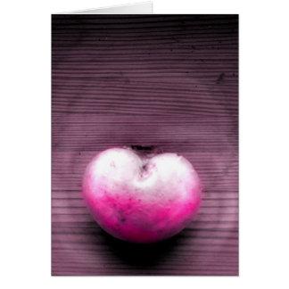 Cartão Fungo do coração