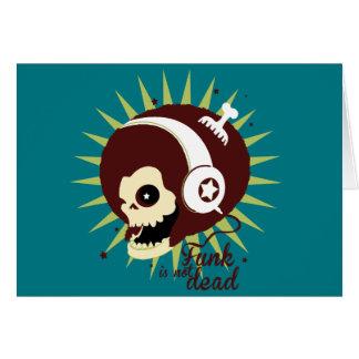 Cartão Funk not dead