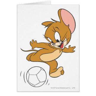Cartão Futebol de Tom e de Jerry (futebol) 2