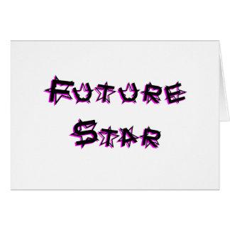 Cartão future_star_pink
