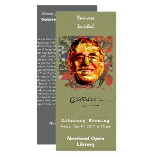 Cartão Gabriel García Márquez