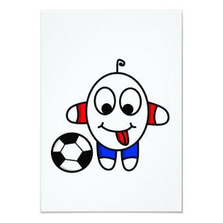 Cartão gajo engraçado do futebol