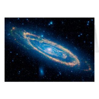 Cartão Galáxia do Andromeda