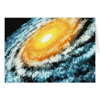 Cartão Galáxia espiral 4