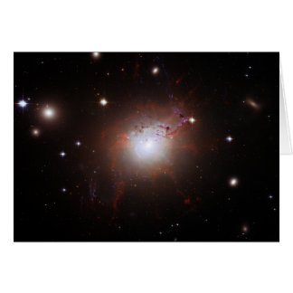 Cartão Galáxia NGC de Seyfert Perseus 1275 um Caldwell 24