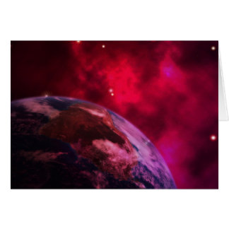 Cartão Galáxia roxa 2 - purple galaxy
